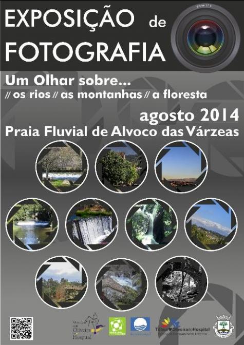 Exposi��o de fotografia na praia fluvial de Alvoco das V�rzeas